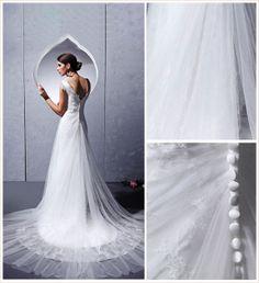 White Organza Wedding Dress - Fadhits