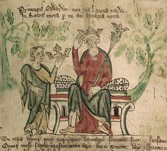 Edward II ruled from 1307 until he was deposed in His reign was one in which favourites were promoted, leading to conflict with barons. Edward II led the army at the disastrous English defeat at Bannockburn. Medieval Manuscript, Medieval Art, Illuminated Manuscript, Medieval Life, Uk History, British History, Family History, Monarchy Family Tree, Karl Iv