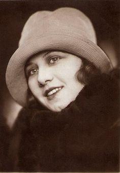 Štefica Vidačić (Steffie Vida) First Croatian Miss Europe, selected on beauty contest in Berlin 1927.