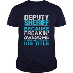 DEPUTY SHERIFF T-Shirts, Hoodies. SHOPPING NOW ==► https://www.sunfrog.com/LifeStyle/DEPUTY-SHERIFF-110132149-Navy-Blue-Guys.html?41382