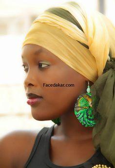 a256f9e8b31d comment faire nouer les foulards en general - Google Search Foulards De  Tête, Coiffure Avec