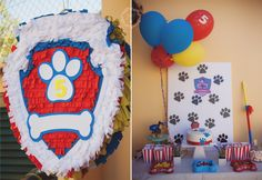 Paw Patrol Party, Pinhata