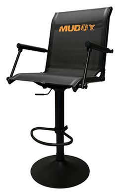 Blackout Swivel Hard Arm Chair Arms Bowhunting And Archery