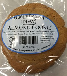 The ORIGINAL Nilda's Desserts announces our new Almond Cookie!!  Get it in the stores today.