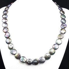 Gorgeous Natural Coffee Mabe Pearl Necklace by CherryGemstone, $12.99