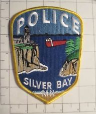 Silver Bay MN PD Silver Bay, Emergency Responder, Police Badges, Fire Fighters, Police Patches, Private Sector, Thin Blue Lines, Law Enforcement, Minnesota