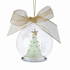 Lenox Christmas Ornaments Lighted Wonder Ball Tree