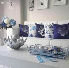 Salon, Dekoratif, Mavi