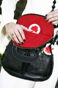 "The Oxford Bag ""Bricks & Stones"" by Scarlet Clover Designs."