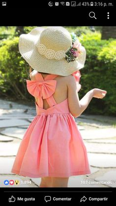 Image gallery – Page 504051383292031583 – Artofit Little Dresses, Little Girl Dresses, Girls Dresses, Flower Girl Dresses, Outfits Niños, Kids Outfits, Toddler Fashion, Girl Fashion, Kids Gown