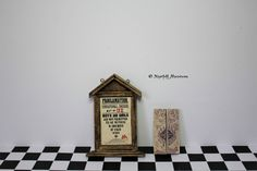 Dollhouse Miniature Magic Harry Potter Inspired Proclamation and Marauders Map 1:12 scale by NightfallMiniatures on Etsy https://www.etsy.com/listing/567546252/dollhouse-miniature-magic-harry-potter