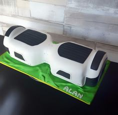 Hoverboard cake