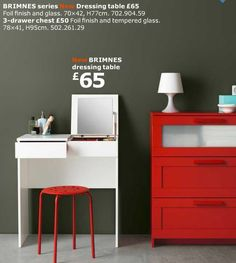 IKEA BRIMNES Dressing Table - £65