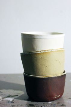 Mineral tableware « The Ceramicists