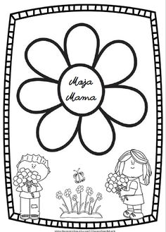 Dzień Mamy | 123pomyslnaedukacje Coloring Pages, Education, Diy, Mother's Day, Quote Coloring Pages, Bricolage, Do It Yourself, Kids Coloring, Onderwijs