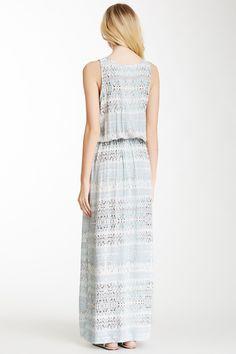 Beach Stripe Drawstring Maxi Dress by Karen Kane on @nordstrom_rack
