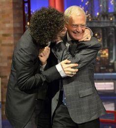 Howard Stern & David Letterman