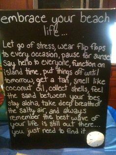 great beach sign! <3 it!