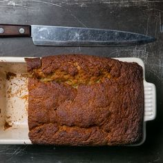 Learn to make Dominique Ansel's banana bread.