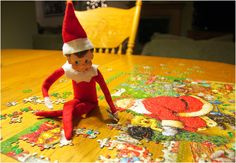 20 Elf on the Shelf Ideas with Shopping List and Daily Planner   Over The Big Moon