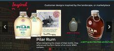 Custom Glass Tequila Bottle   Built in China