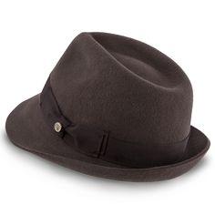 20357c4a7057b Triumph - Walrus Hats Grey Wool Felt Trilby Hat - H7004