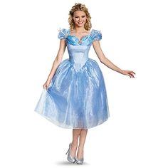 Halloween 2017 Disney Costumes Plus Size & Standard Women's Costume Characters - Women's Costume CharactersDisguise Women's Cinderella Movie Adult Deluxe Costume