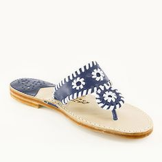 The Original Palm Beach Classic Sandal 6 BM US Navy White >>> You can find more details by visiting the image link. Unique Shoes, Cute Shoes, Burlap Monogram, Dream Shoes, Palm Beach Sandals, Girls Shopping, White Leather, Patent Leather, Shoe Collection