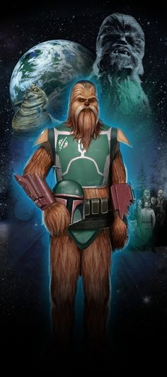 Je viens tout juste de visiter STAR WARS Identites : L'Exposition. Fais connaissance avec mon Héros Star Wars,  Mapa, un Wookiee chasseur de primes de Endor!