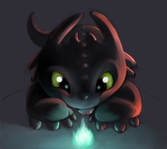 How to train your dragon, toothless, night fury, dragon