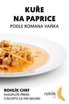 Czech Recipes, Ethnic Recipes, Thai Red Curry, Red Peppers