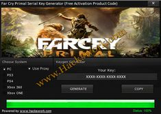 Far Cry Primal Serial Key Generator + Plná hra na stiahnutie | www.HacksWork.com