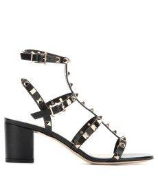 Valentino - Rockstud leather sandals - mytheresa.com