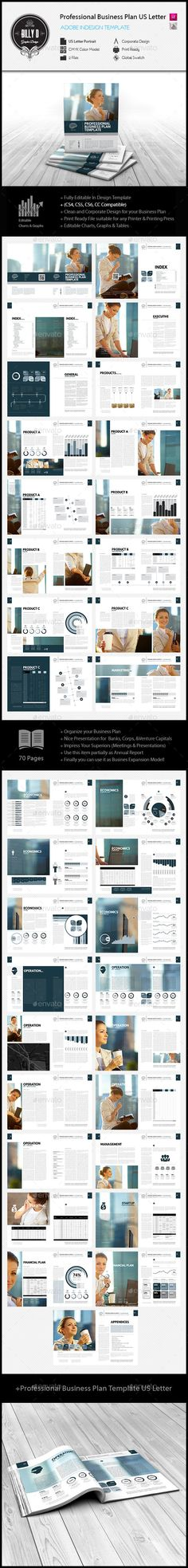 14 Pages A4 Business Proposal Template Graphic Design - business proposal letters