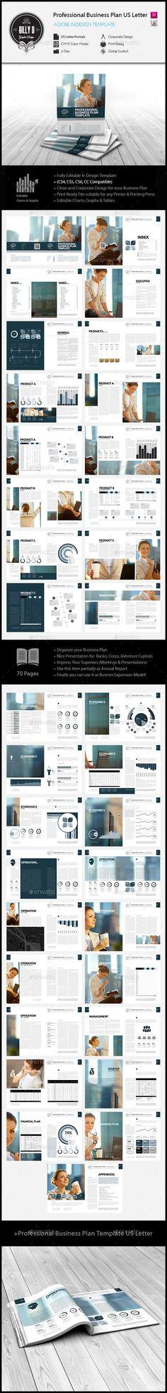 Professional Digital Business Plan Template  Business Plan
