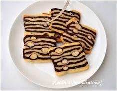 Kuchnia Prezydentowej: Tygryski - kruche ciasteczka z migdałami Cookie Recipes, Dessert Recipes, Desserts, Tiger Cookies, Galletas Cookies, Polish Recipes, Polish Food, Cannoli, Tyga