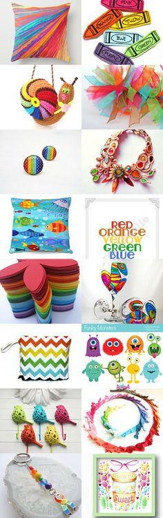 Rainbow Bright by Maria Plover on Etsy--Pinned with TreasuryPin.com   #shopping #homedecor #photographypillow #Etsy #rainbow