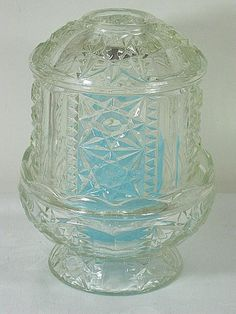 Vintage FAIRY LIGHT CANDLE Holder Votive Tea Light   by LavenderGardenCottage etsy