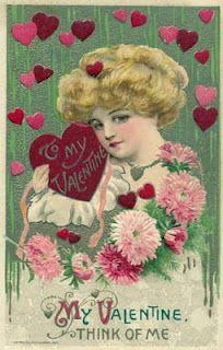 vintage postcard  Valentines