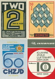 Vintage Matchbox Graphics – Shailesh Chavda Flickr Set