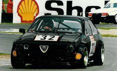 Alfa Romeo GTV6 race car