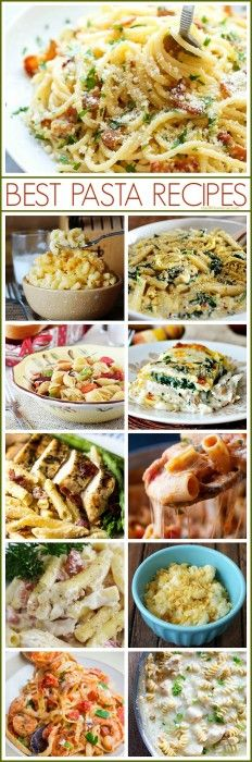 These are the BEST PASTA RECIPES ever!!!! So dane good!!!! #recipes #pasta