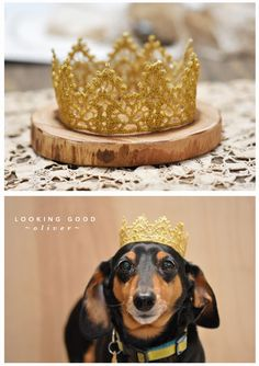 DIY: Lace Crowns