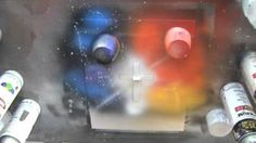 Spray Paint Art Tutorial: Working with Stencils