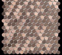 DUNE PENNY COPPER - Mozaika metalowa -   PROMOCJA! - Płytki - zdjęcia, pomysły, inspiracje - Homebook