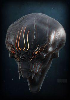 Quick sketches Sandesh Chonkar on ArtStation Alien Concept Art, Fantasy Concept Art, Creature Concept Art, Creature Design, Creature Feature, Alien Creatures, Fantasy Creatures, Alien Character, Character Art