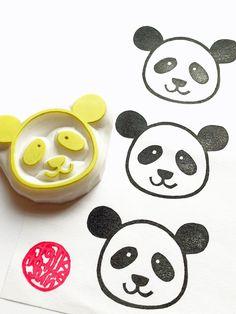 Panda face stamp :) $9.00 from www.pandathings.com