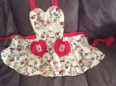 Valentine apron from The Glass Cactus