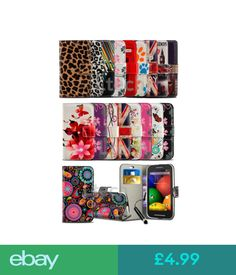 Cases & Covers Sony Xperia L1 (2017) G3311 - Printed Design Pattern Flip Case Cover & Mini Pen #ebay #Electronics