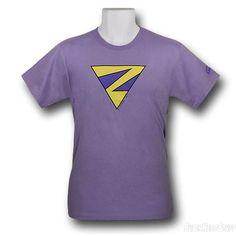 Images of Wonder Twins Zan Symbol T-Shirt